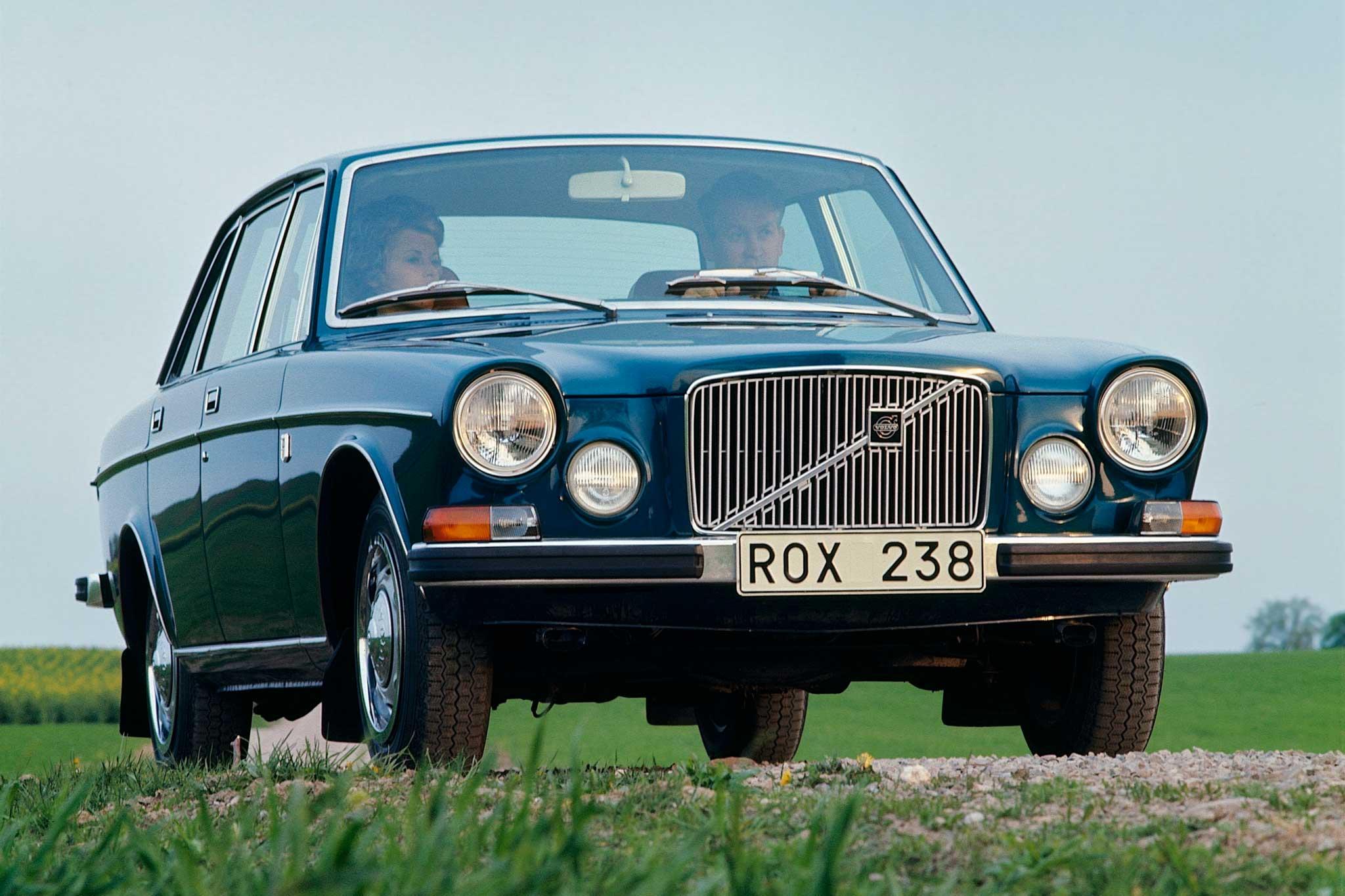 Volvo 164 – luksusbilen fra 60-tallet- fyller 50 år