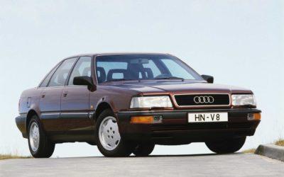 Audi V8 – Audis første luksusbil