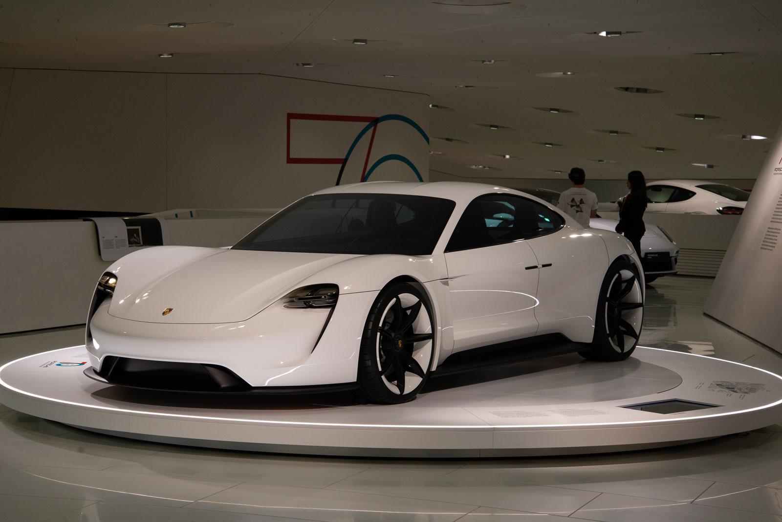 Porsche Museum Taycan
