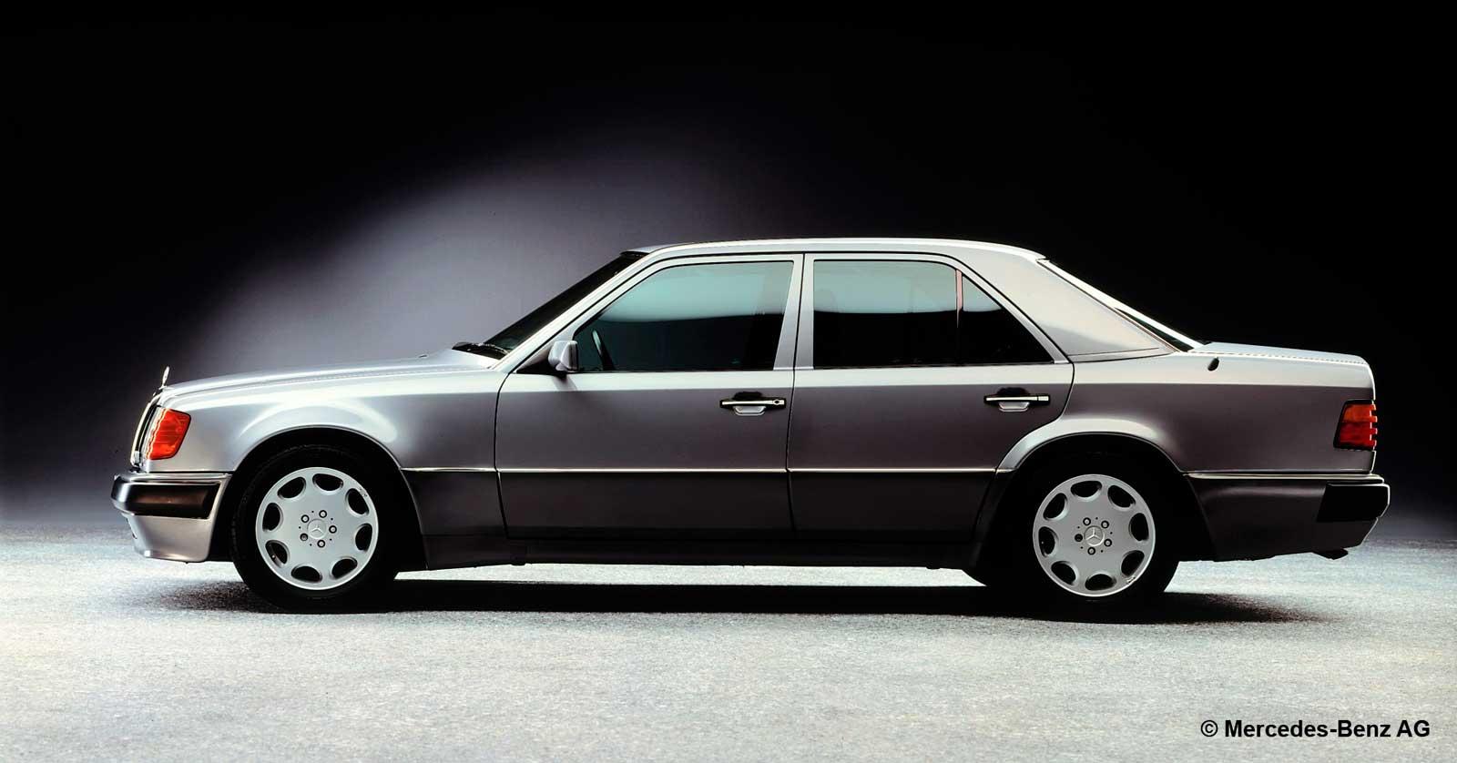 Mercedes 500E side