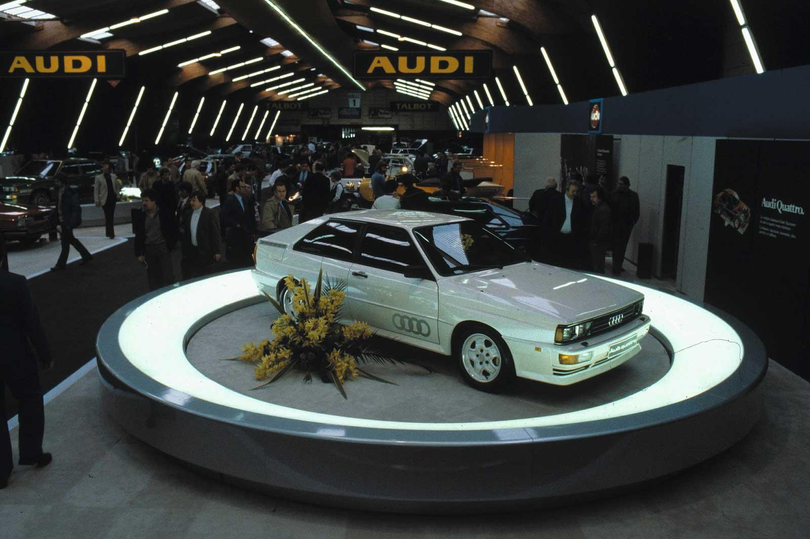 Audi Quattro Geneve 1980